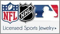Licensed Sports Jewelry