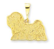 Lhasa Apso Pendant Or Charm