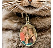 Pet s Oval Picture Pendant