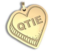QTIE   Candy Heart Pendant or Charm