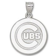 Chicago Cubs 1 Inch Medallion