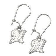 Milwaukee Brewers 1 2 Inch Earrings