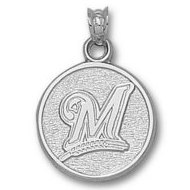 Milwaukee Brewers 3 4 Inch Charm