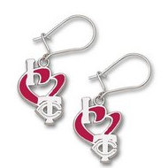 Minnesota Twins 1 2 Inch Earrings