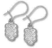 New York Mets 1 2 Inch Earrings