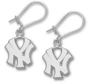 New York Yankee s 1 2 Inch Earrings