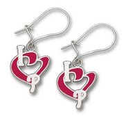 Philadelphia Phillies 1 2 Inch Earrings