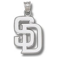 San Diego Padress 1 Inch Medallion