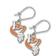 San Francisco Giants 1 2 Inch Earrings