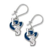 Seattle Mariners 1 2 Inch Earrings