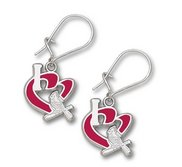 St Louis Cardinals 1 2 Inch Earrings