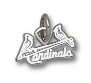 St Louis Cardinals 1 4 Inch Charm
