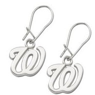 Washington Nationals 1 2 Inch Earrings
