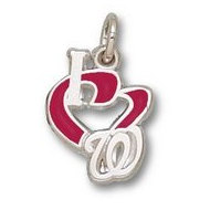 Washington Nationals 1 2 Inch Charm