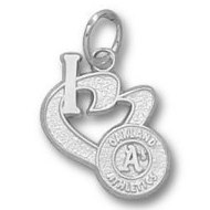 Oakland Athletics 1 2 Inch Medallion