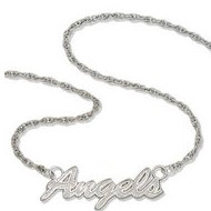 Anaheim Angels Name Plate Necklace W  Chain