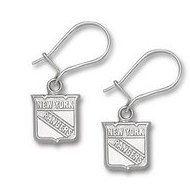 New York Rangers 3 8 Inch Earrings