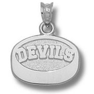 New Jersey Devils 7 16 Inch Charm