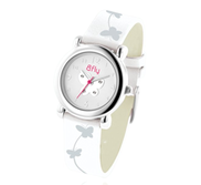 Bfly Cubic Zirconia  April  Adjustable Children s Birthstone Watch