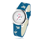 Bfly Sapphire  September  Adjustable Children s Birthstone Watch