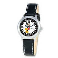 Mickey Mouse 8 4  Leather Band with Buckle Closure