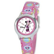 Minnie Mouse 8 4  Woven Band With Buckle Closure