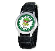 Kermit The Frog 6 3  Nylon Band With Velcro Closure