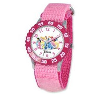 Disney Princess 7  Nylon Band With Velcro Closure