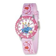 Disney Princess 8 4  Woven Band with Buckle Closure