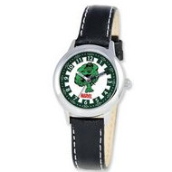 The Hulk 8 4  Leather Band With Buckle Closure