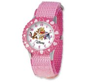 Pooh   Friends 7  Nylon Band With Velcro Closure