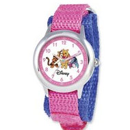 Pooh   Friends 6 3  Nylon Band With Velcro Closure
