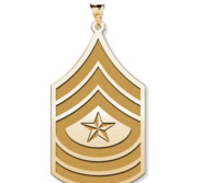 United States Army Sergeant Major Pendant