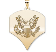 United States Army Specialist Pendant