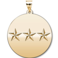United States Army Lieutenant General Pendant