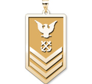 Unites States Navy  Petty Officer 1st Class Pendant