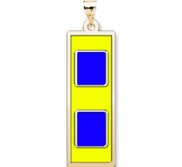 Unites States Navy Warrant Officer 1 Pendant