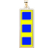 Unites States Navy Chief Warrant Officer 2 Pendant