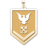 Unites States Navy Petty Officer 3rd Class Pendant