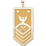 Unites States Navy Master Chief Petty Officer Pendant