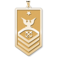 Unites States Navy Senior Chief Petty Officer Pendant