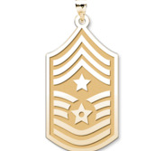 Unites States Air Force Command Chief Master Sergeant Pendant