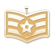 Unites States Air Force Senior Airman Pendant