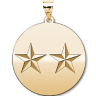 Unites States Air Force Major General Pendant