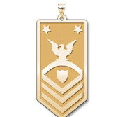 Unites States Coast Guard Command Master Chief Petty Officer Pendant