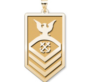 Unites States Coast Guard Chief Petty Officer Pendant