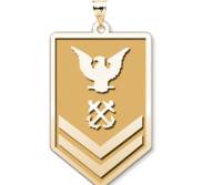 Unites States Coast Guard  Petty Officer 2nd Class Pendant