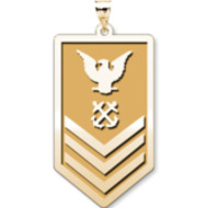Unites States Coast Guard Petty Officer 1st Class Pendant