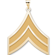 US Army National Guard Corporal Pendant