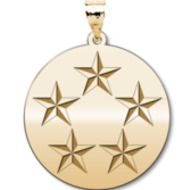 US Army National Guard  General of the Army Pendant